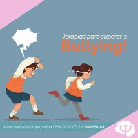 Terapias para superar o Bullying!